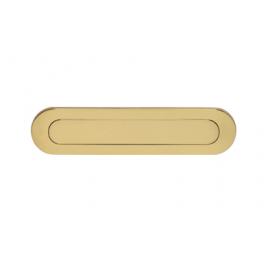 Oval brevinkast i mässing 0010.400005