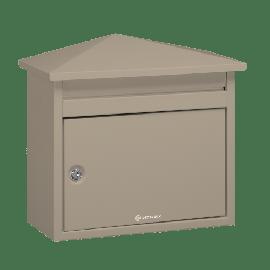 Grå brevlåda Brabantia D560