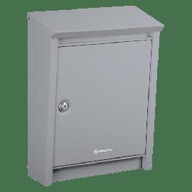 Silvergrå brevlåda Brabantia D110