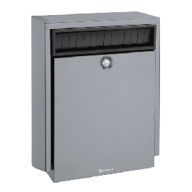 Silver postlåda D410