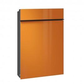 Orange slimmad brevlåda från serafini