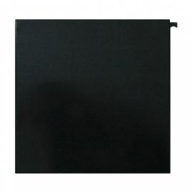 Serafini square design postlåda i svart