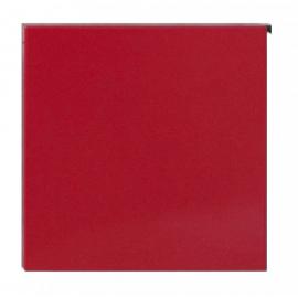 Postlåda Square röd 30.7125.57