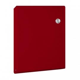 Röd Slim design brevlåda 30.7126.57