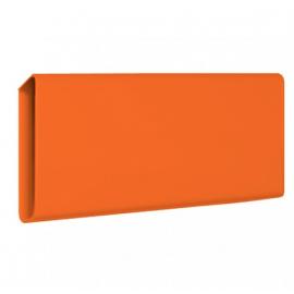 Orange tidningshållare Slim