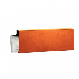 Orange tidningshållare Serafini Square