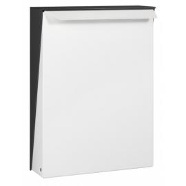 Svart/vit design brevlåda S-Box