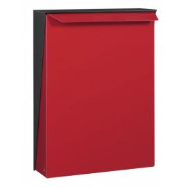 Röd design postlåda S-box