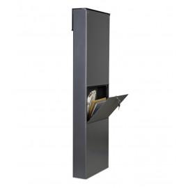 Design Veckopostlåda i Aluminium Heibi CALMALUX