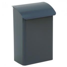 7944 grå Safepost basic brevlåda