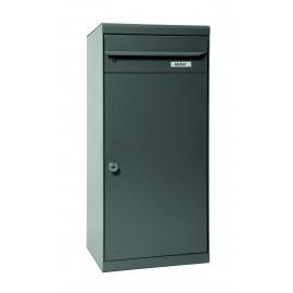 Mefa cedar 881 paketbrevlåda basaltgrå