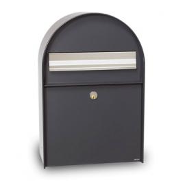 Postlåda mefa Amber antracitgrå