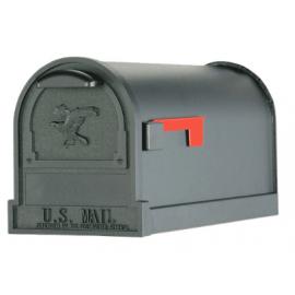 Exklusiv amerikans brevlåda svart