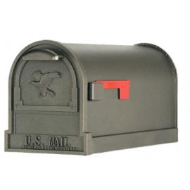 Exklusiv amerikansk brevlåda i brons
