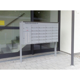 Postlåda anläggning 24-pack knobloch