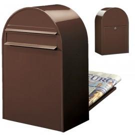 bobi classic b brevlåda i brun färg