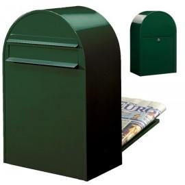 svartgrön brevlåda Bobi classic b