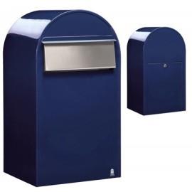 Bobi grande B brevlåda safirblå