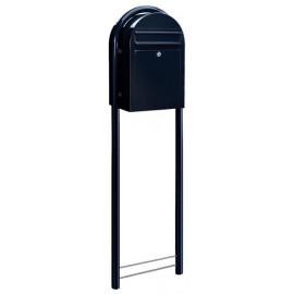 stativ | stolpe brevlåda Bobi mörkblå