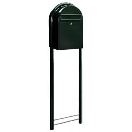 Stolpe postlåda Bobi mörkgrön