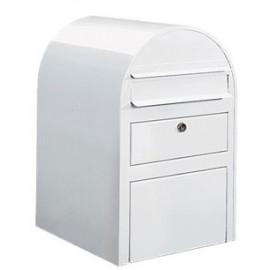 Köp brevlåda Paketbrevlåda Bobi Swiss - Vit