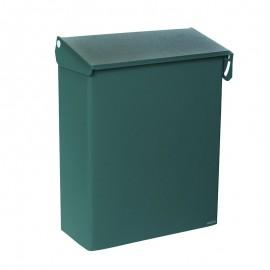 Grön postlåda för hänglås Bosca 28