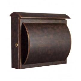 Heibi Quelo postlåda med integrerad tidningshållare