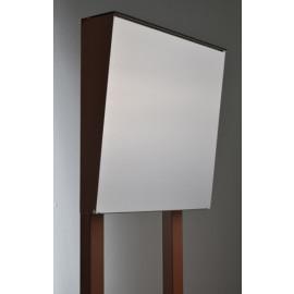Bravios Cone brevlåda rostbrun med rostfri front