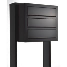Bravios Cube 3 svart med stativet