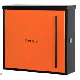 Orangeröd postlåda Knobloch DB3050-ORA