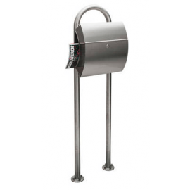 Rostfri universal stativ för postlåda Knobloch DF1020