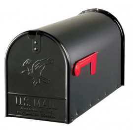 Amerikansk brevlåda Elite E16B Svart