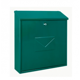 Grön väggpostlåda Firenze