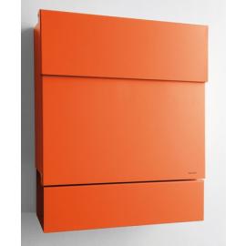 Letterman 5 design postlåda i orange