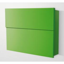 Extra stor grön design postlåda Letterman 2