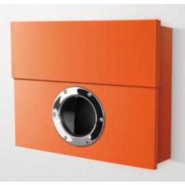 Extra stor design postlåda Letterman XXL orange