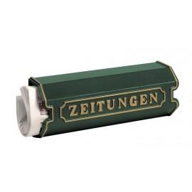 Grön aluminium tidningsfack Burg Wächter 1890 GR