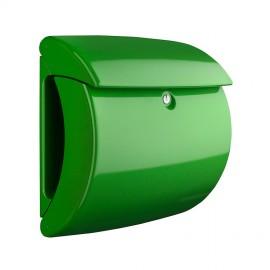 Postlåda plast Piano grön 371404