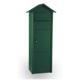 Grön paketbrevlåda Mefa Pine