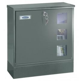 Vattentätt postlåda Rottner Postale grå