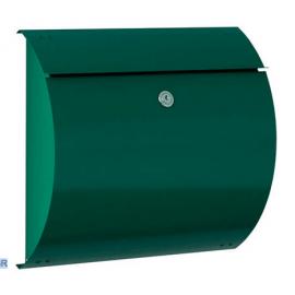 Grön postlåda med lås S3150-GR
