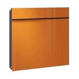 Design brevlåda i orange färg från Serafini 30.7185.85