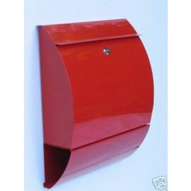 Brevlåda Bravios Sunshine röd