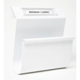 Urban tidningshållare i vitt
