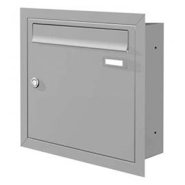 Infälld brevlåda Knobloch UP10-110-GA grå