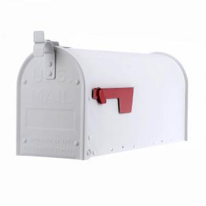 Amerikansk brevlåda Aluminium ADM11W - Vit