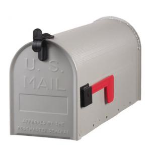 Amerikansk brevlåda Standard Grå