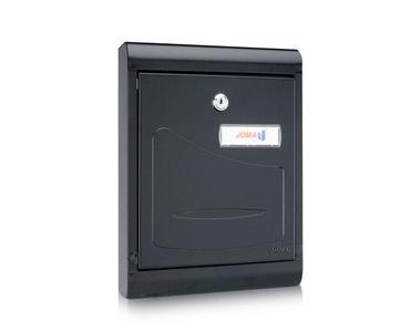 Postlåda för placering på insidan av dörren